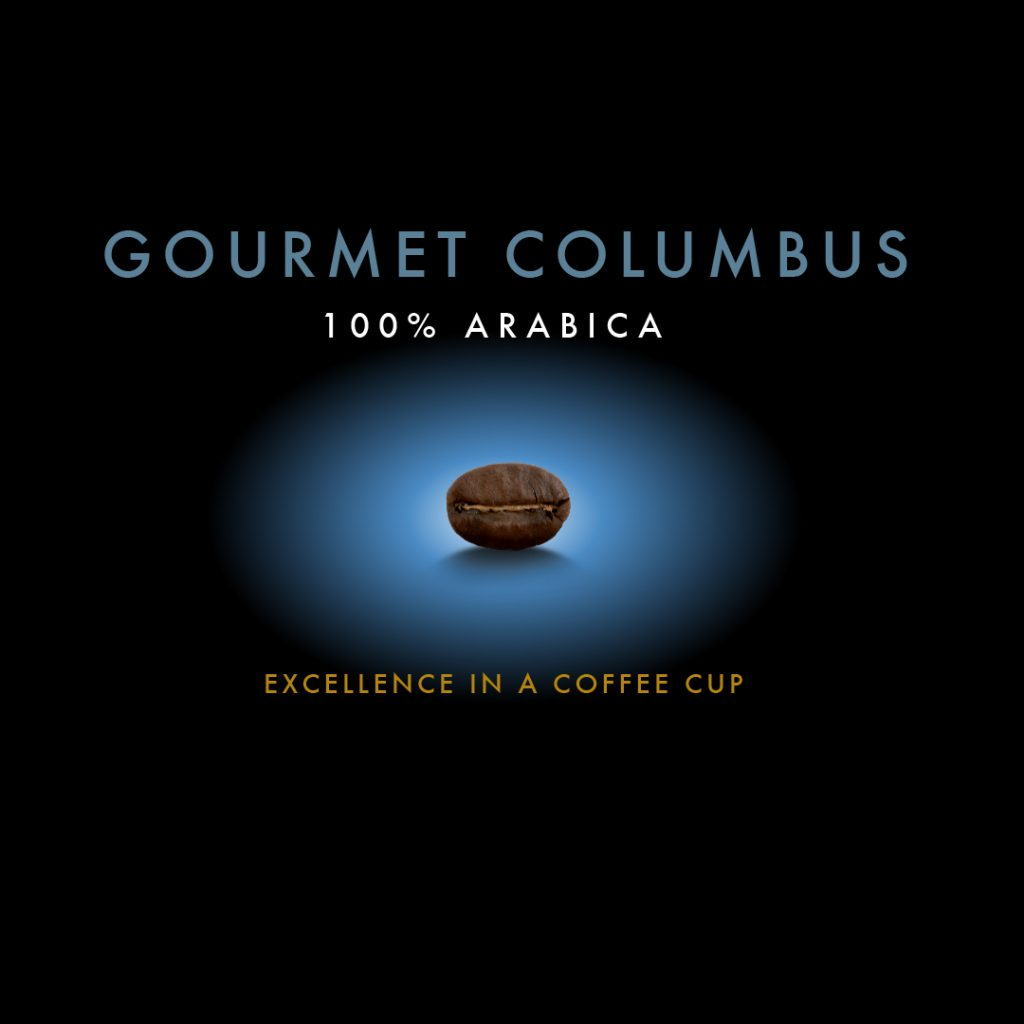 Gourmet Columbus - 100% arabica